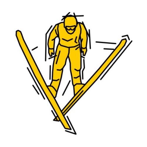 Skispringen 118