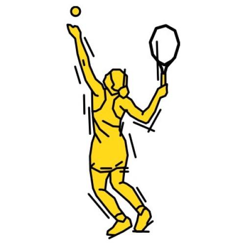 Tennisspielerin 313