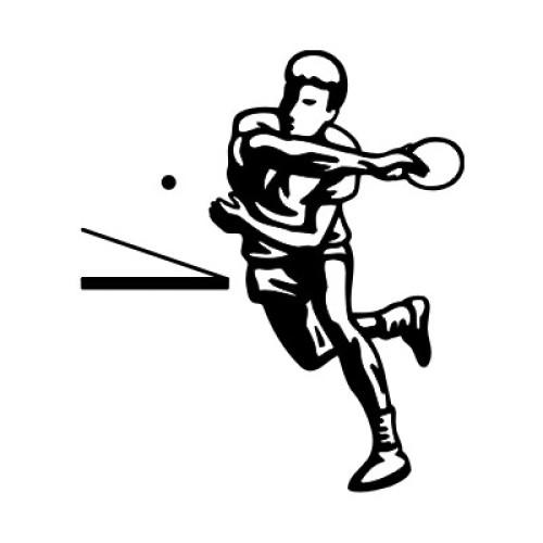 Tischtennisspieler 2322