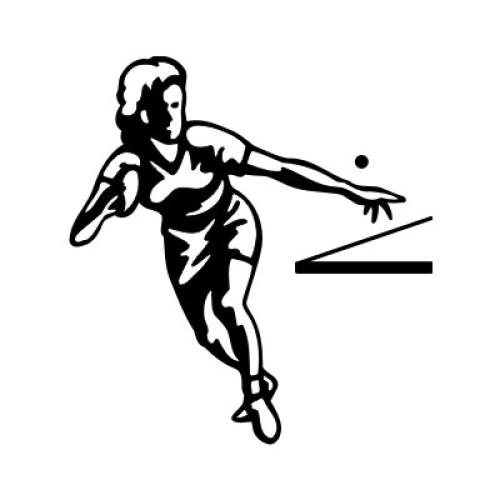 Tischtennisspielerin 2323