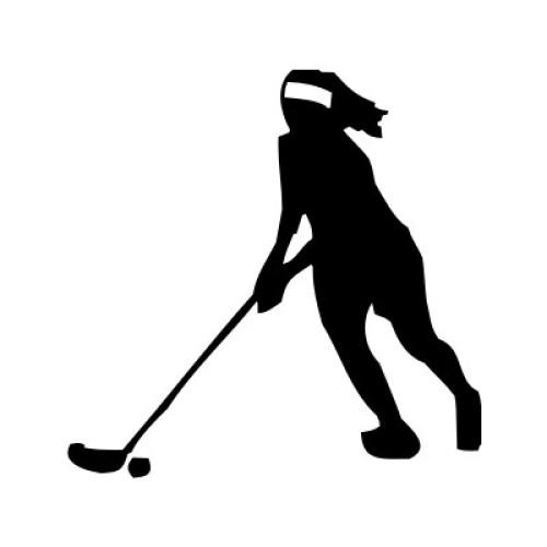 Unihockeyspielerin 2907-X