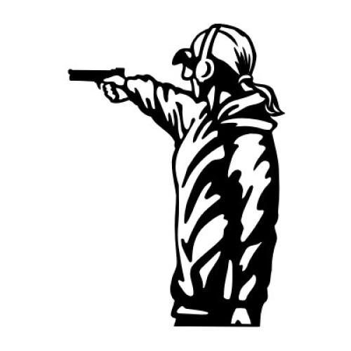 Pistolenschützin 417