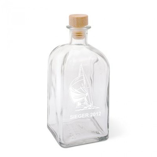 Kristallglasflasche NINA