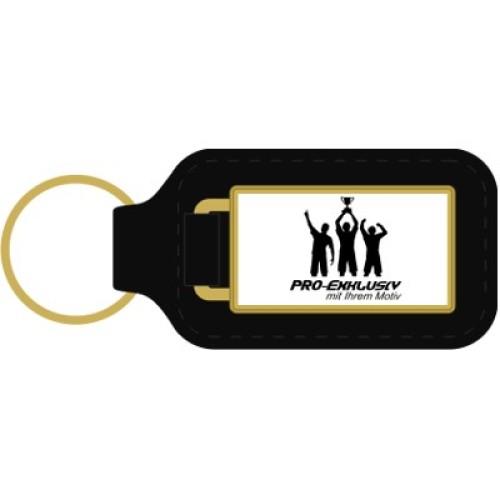 Schlüsselanhänger mit Leder 33x60 mm