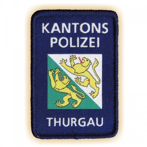 Polizei-Patch KAPO THURGAU