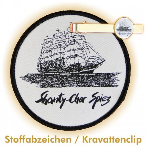 Kravattenclip / Aufnäher SHANTY