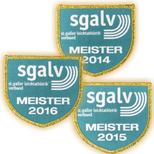 Stoffabzeichen SGALV CHAMPION