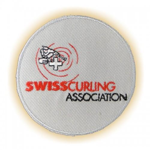Stick-Abzeichen SWISSCURLING