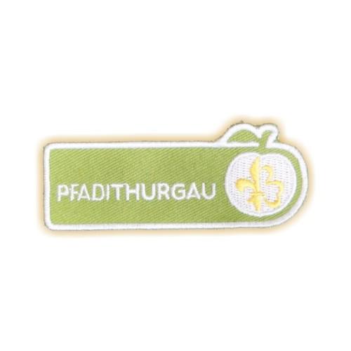 Stick-Aufnäher PFADI THURGAU