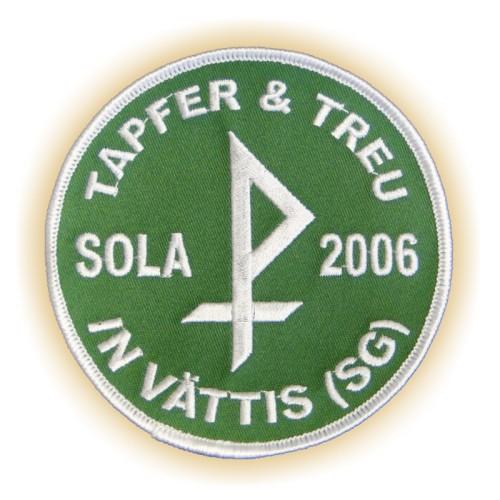 Stickabzeichen SOLA