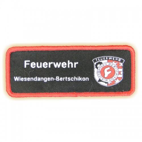 Stoffabzeichen FEUERWEHR W-B