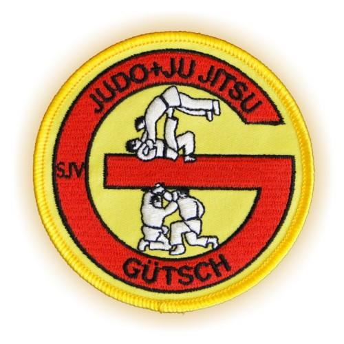 Bügelabzeichen JUDO GÜTSCH