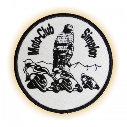 Patch MOTO-CLUB SiMPLON