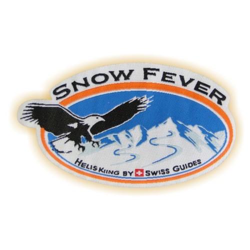 Bügelabzeichen SNOW FEVER
