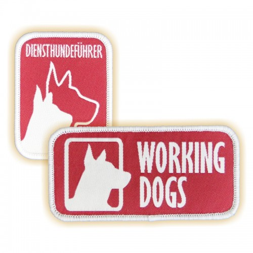 Abzeichen WORKING DOGS