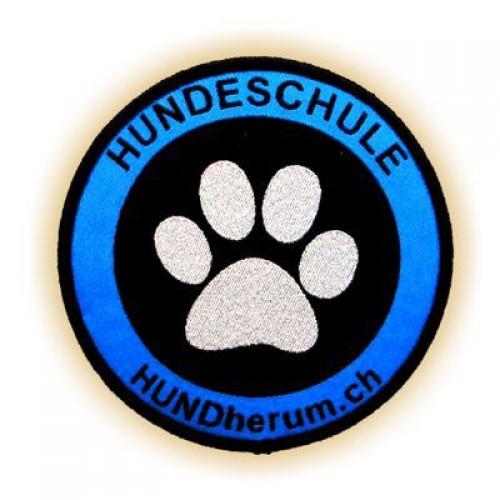 Hundeschule Aufnäher HUNDHERUM