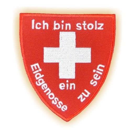 Stickabzeichen EIDGENOSSE