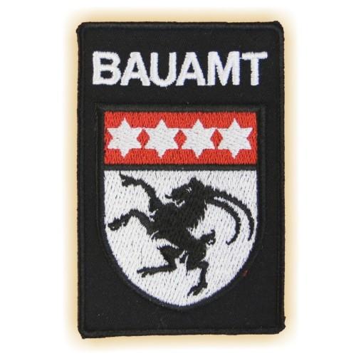 Stoff-Sticker BAUAMT