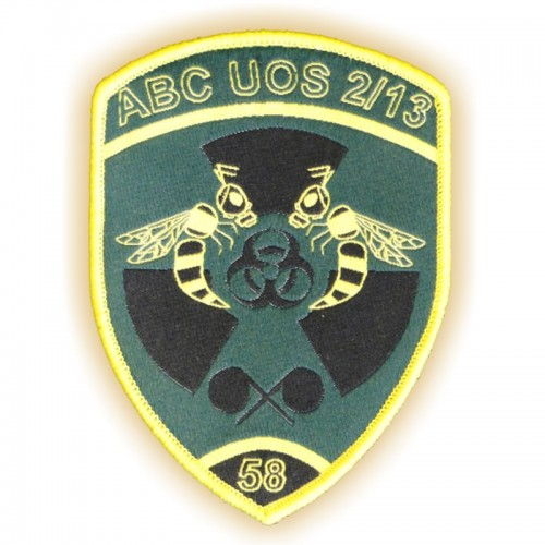 Militär-Patch ABC UOS