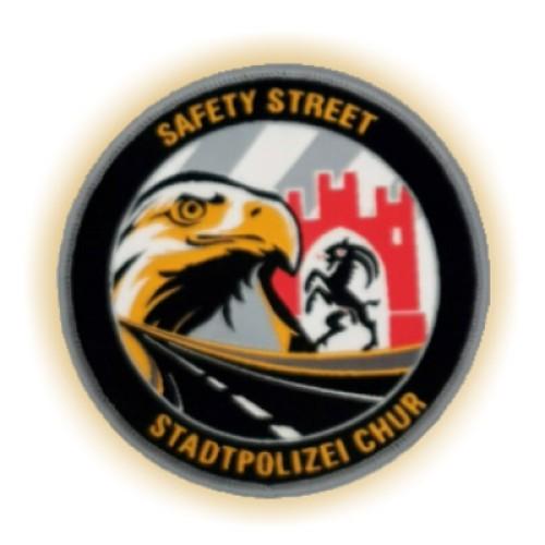 Aufnäher STAPO CHUR SAFETY STREET