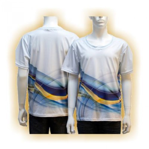 T-Shirt Vollflächendruck
