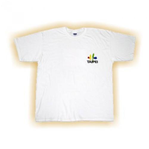 T-Shirt weiss Multi-Farbdruck