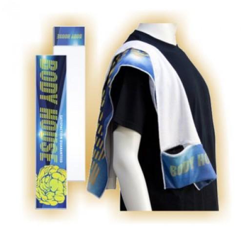 Sport-Tuch mit integrierter Tasche