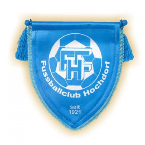 Übergabe-Wimpel FC HOCHDORF