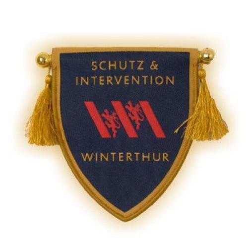 Übergabe-Wimpel SCHUTZ WINTERTHUR